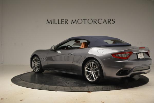 New 2018 Maserati GranTurismo Sport Convertible for sale Sold at Alfa Romeo of Greenwich in Greenwich CT 06830 5