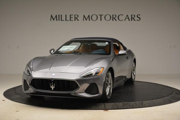 New 2018 Maserati GranTurismo Sport Convertible for sale Sold at Alfa Romeo of Greenwich in Greenwich CT 06830 1