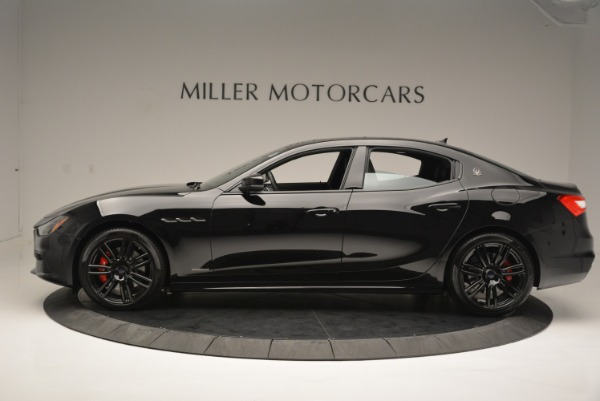 New 2018 Maserati Ghibli SQ4 GranSport Nerissimo for sale Sold at Alfa Romeo of Greenwich in Greenwich CT 06830 3