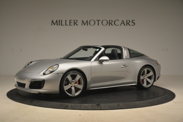 Used 2017 Porsche 911 Targa 4S for sale Sold at Alfa Romeo of Greenwich in Greenwich CT 06830 2