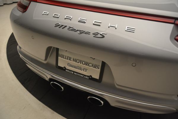 Used 2017 Porsche 911 Targa 4S for sale Sold at Alfa Romeo of Greenwich in Greenwich CT 06830 28