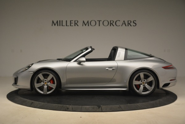 Used 2017 Porsche 911 Targa 4S for sale Sold at Alfa Romeo of Greenwich in Greenwich CT 06830 3