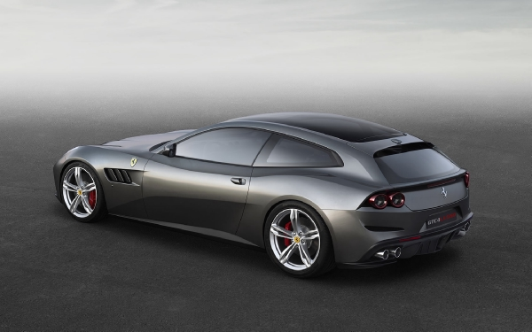 New 2020 Ferrari GTC4LUSSO for sale Sold at Alfa Romeo of Greenwich in Greenwich CT 06830 4