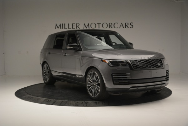 Used 2018 Land Rover Range Rover Supercharged LWB for sale Sold at Alfa Romeo of Greenwich in Greenwich CT 06830 11