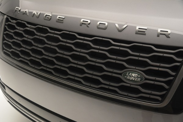 Used 2018 Land Rover Range Rover Supercharged LWB for sale Sold at Alfa Romeo of Greenwich in Greenwich CT 06830 13