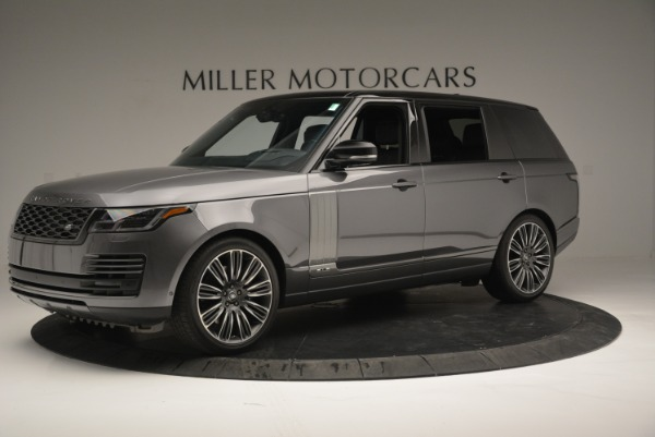 Used 2018 Land Rover Range Rover Supercharged LWB for sale Sold at Alfa Romeo of Greenwich in Greenwich CT 06830 2