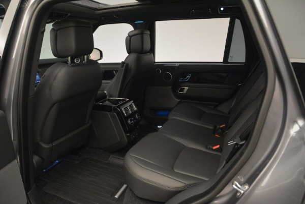 Used 2018 Land Rover Range Rover Supercharged LWB for sale Sold at Alfa Romeo of Greenwich in Greenwich CT 06830 20