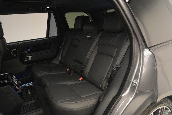 Used 2018 Land Rover Range Rover Supercharged LWB for sale Sold at Alfa Romeo of Greenwich in Greenwich CT 06830 21