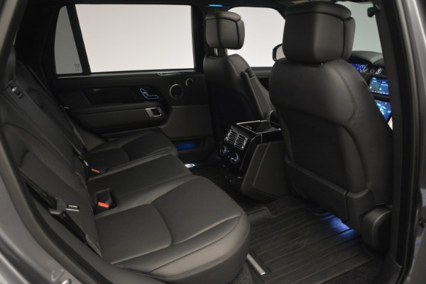 Used 2018 Land Rover Range Rover Supercharged LWB for sale Sold at Alfa Romeo of Greenwich in Greenwich CT 06830 26