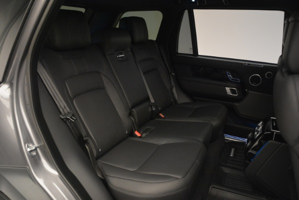 Used 2018 Land Rover Range Rover Supercharged LWB for sale Sold at Alfa Romeo of Greenwich in Greenwich CT 06830 27