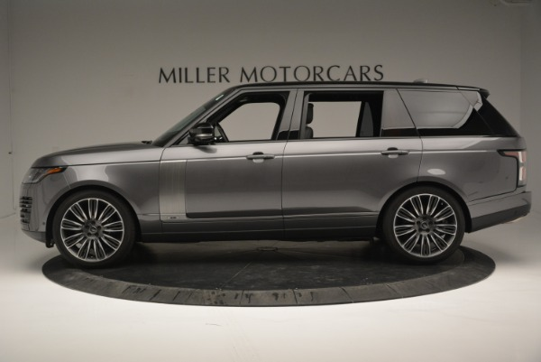Used 2018 Land Rover Range Rover Supercharged LWB for sale Sold at Alfa Romeo of Greenwich in Greenwich CT 06830 3