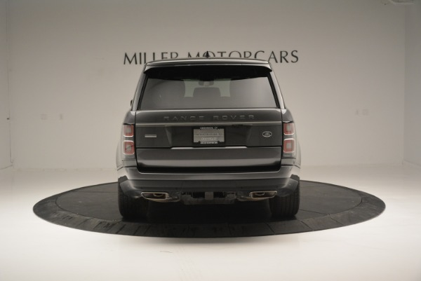 Used 2018 Land Rover Range Rover Supercharged LWB for sale Sold at Alfa Romeo of Greenwich in Greenwich CT 06830 6