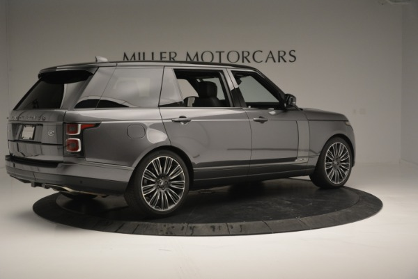 Used 2018 Land Rover Range Rover Supercharged LWB for sale Sold at Alfa Romeo of Greenwich in Greenwich CT 06830 8
