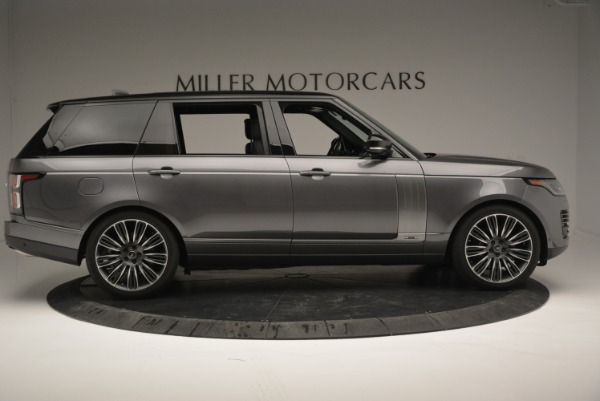 Used 2018 Land Rover Range Rover Supercharged LWB for sale Sold at Alfa Romeo of Greenwich in Greenwich CT 06830 9