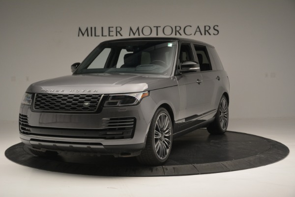 Used 2018 Land Rover Range Rover Supercharged LWB for sale Sold at Alfa Romeo of Greenwich in Greenwich CT 06830 1