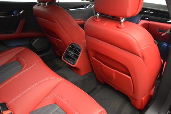 New 2018 Maserati Quattroporte S Q4 GranLusso for sale Sold at Alfa Romeo of Greenwich in Greenwich CT 06830 23