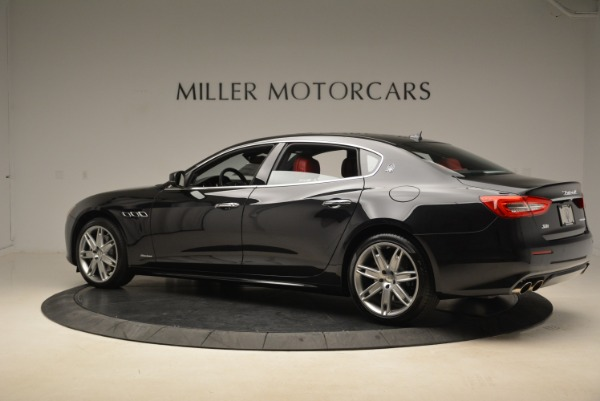 New 2018 Maserati Quattroporte S Q4 GranLusso for sale Sold at Alfa Romeo of Greenwich in Greenwich CT 06830 4