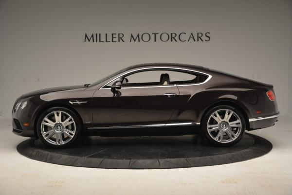 Used 2016 Bentley Continental GT W12 for sale Sold at Alfa Romeo of Greenwich in Greenwich CT 06830 3
