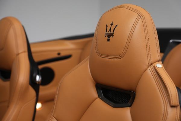 Used 2018 Maserati GranTurismo Sport for sale Call for price at Alfa Romeo of Greenwich in Greenwich CT 06830 23