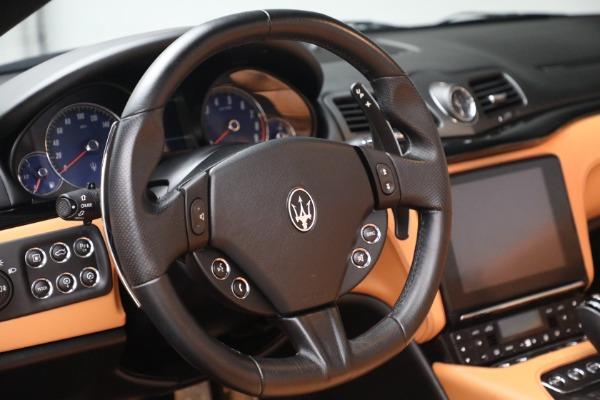 Used 2018 Maserati GranTurismo Sport for sale Call for price at Alfa Romeo of Greenwich in Greenwich CT 06830 25