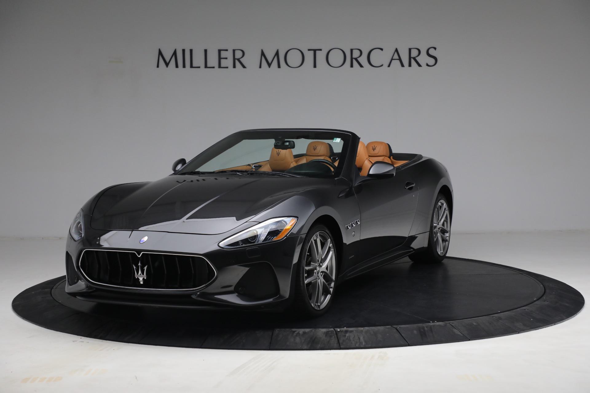 Used 2018 Maserati GranTurismo Sport for sale Call for price at Alfa Romeo of Greenwich in Greenwich CT 06830 1