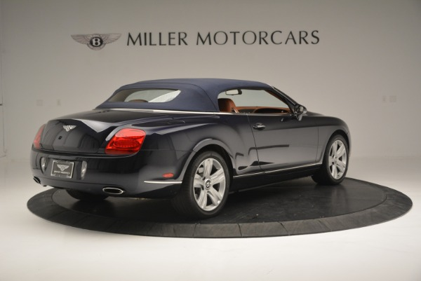 Used 2008 Bentley Continental GTC GT for sale Sold at Alfa Romeo of Greenwich in Greenwich CT 06830 18