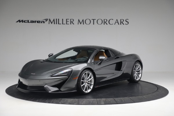 Used 2018 McLaren 570S Spider for sale Sold at Alfa Romeo of Greenwich in Greenwich CT 06830 19