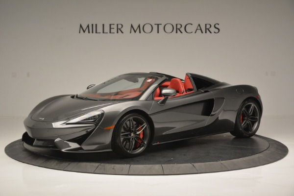 New 2018 McLaren 570S Spider for sale Sold at Alfa Romeo of Greenwich in Greenwich CT 06830 2