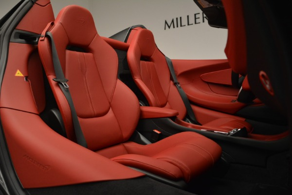 New 2018 McLaren 570S Spider for sale Sold at Alfa Romeo of Greenwich in Greenwich CT 06830 26