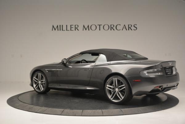 Used 2014 Aston Martin DB9 Volante for sale Sold at Alfa Romeo of Greenwich in Greenwich CT 06830 16