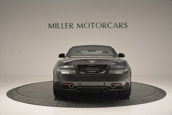 Used 2014 Aston Martin DB9 Volante for sale Sold at Alfa Romeo of Greenwich in Greenwich CT 06830 18