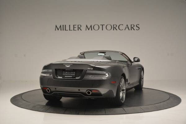 Used 2014 Aston Martin DB9 Volante for sale Sold at Alfa Romeo of Greenwich in Greenwich CT 06830 7