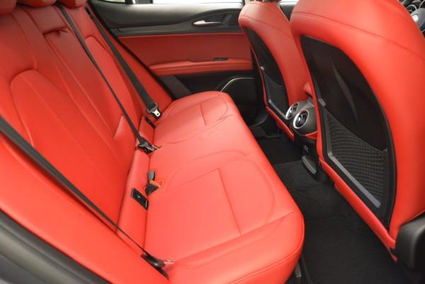 New 2018 Alfa Romeo Stelvio Ti Q4 for sale Sold at Alfa Romeo of Greenwich in Greenwich CT 06830 20