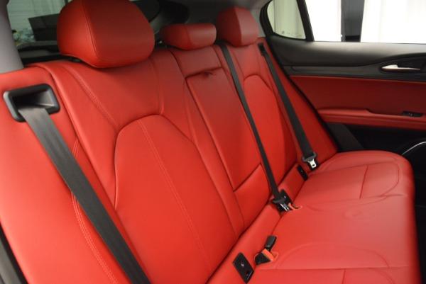 New 2018 Alfa Romeo Stelvio Ti Q4 for sale Sold at Alfa Romeo of Greenwich in Greenwich CT 06830 21