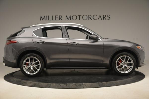 New 2018 Alfa Romeo Stelvio Ti Q4 for sale Sold at Alfa Romeo of Greenwich in Greenwich CT 06830 9