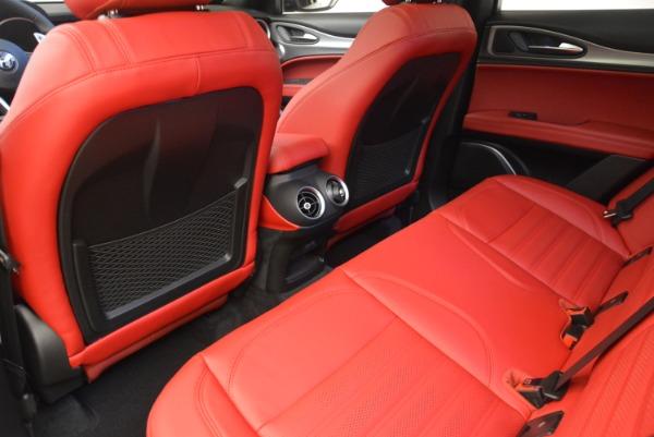 New 2018 Alfa Romeo Stelvio Ti Sport Q4 for sale Sold at Alfa Romeo of Greenwich in Greenwich CT 06830 20
