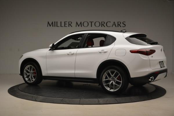 New 2018 Alfa Romeo Stelvio Ti Sport Q4 for sale Sold at Alfa Romeo of Greenwich in Greenwich CT 06830 4