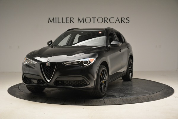 New 2018 Alfa Romeo Stelvio Ti Sport Q4 for sale Sold at Alfa Romeo of Greenwich in Greenwich CT 06830 1