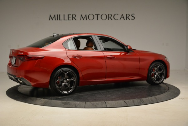 New 2018 Alfa Romeo Giulia Ti Sport Q4 for sale Sold at Alfa Romeo of Greenwich in Greenwich CT 06830 8