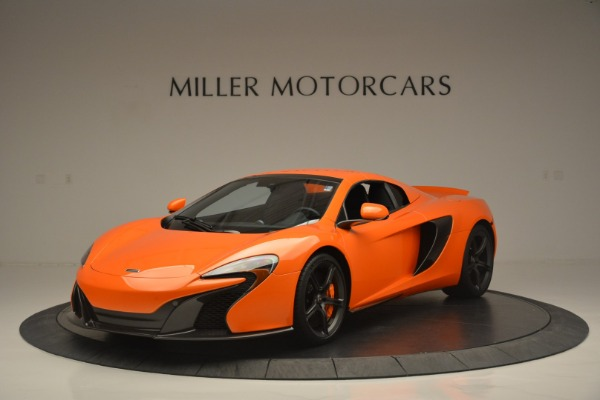 Used 2015 McLaren 650S Spider for sale Sold at Alfa Romeo of Greenwich in Greenwich CT 06830 15