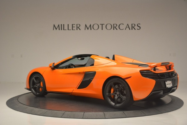 Used 2015 McLaren 650S Spider for sale Sold at Alfa Romeo of Greenwich in Greenwich CT 06830 4