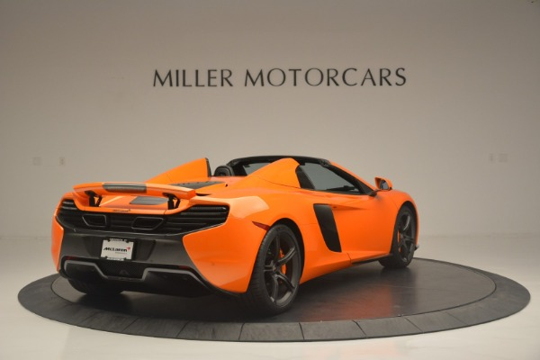 Used 2015 McLaren 650S Spider for sale Sold at Alfa Romeo of Greenwich in Greenwich CT 06830 7