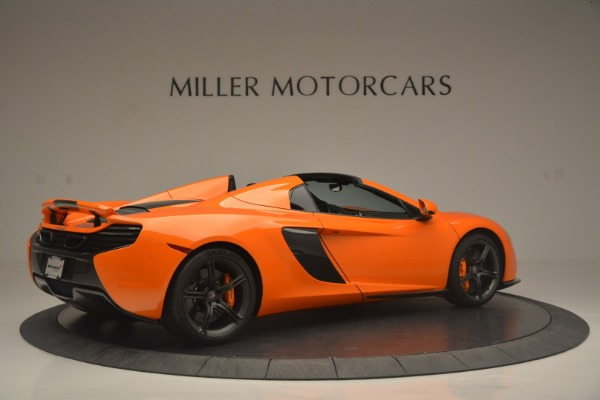 Used 2015 McLaren 650S Spider for sale Sold at Alfa Romeo of Greenwich in Greenwich CT 06830 8