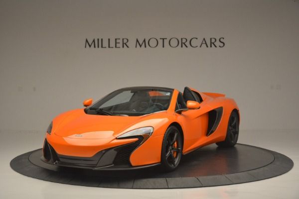 Used 2015 McLaren 650S Spider for sale Sold at Alfa Romeo of Greenwich in Greenwich CT 06830 1