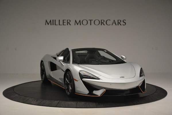 Used 2018 McLaren 570S Spider for sale Sold at Alfa Romeo of Greenwich in Greenwich CT 06830 11