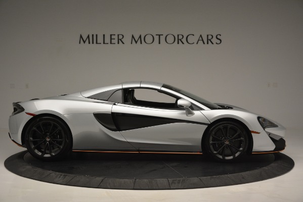 Used 2018 McLaren 570S Spider for sale Sold at Alfa Romeo of Greenwich in Greenwich CT 06830 20