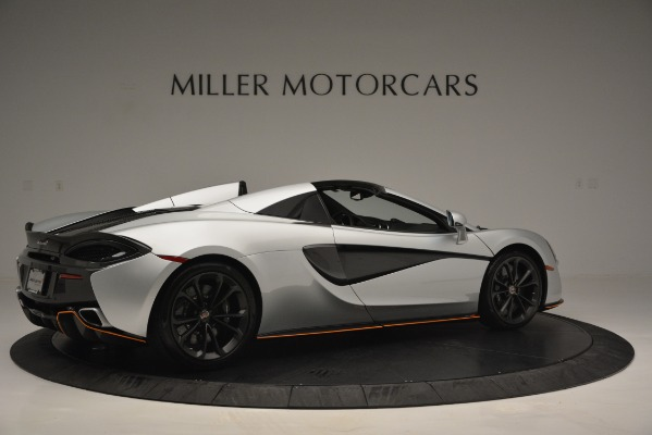 Used 2018 McLaren 570S Spider for sale Sold at Alfa Romeo of Greenwich in Greenwich CT 06830 8