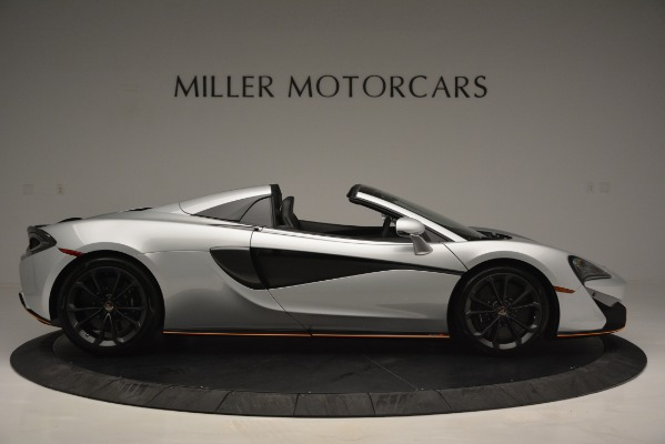 Used 2018 McLaren 570S Spider for sale Sold at Alfa Romeo of Greenwich in Greenwich CT 06830 9