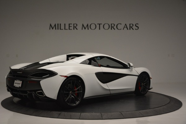 Used 2018 McLaren 570S Spider for sale Sold at Alfa Romeo of Greenwich in Greenwich CT 06830 18