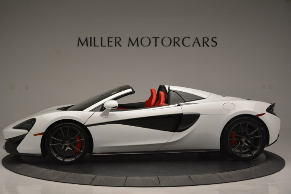 Used 2018 McLaren 570S Spider for sale Sold at Alfa Romeo of Greenwich in Greenwich CT 06830 3